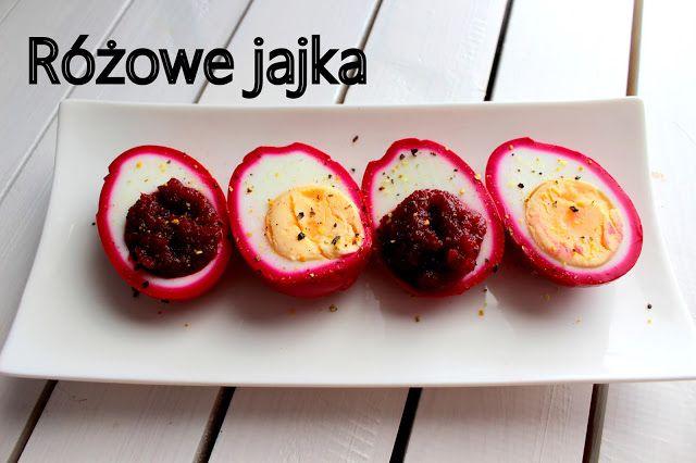 Rozowe Jajka Z Cwikla Food Vegetables Tomato