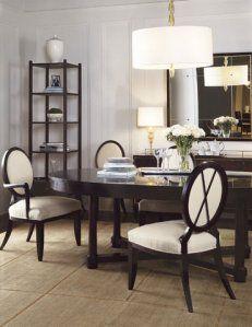 Design Muse Barbara Barry Side Chairs Dining Dining Room Design Bedroom Furniture Design