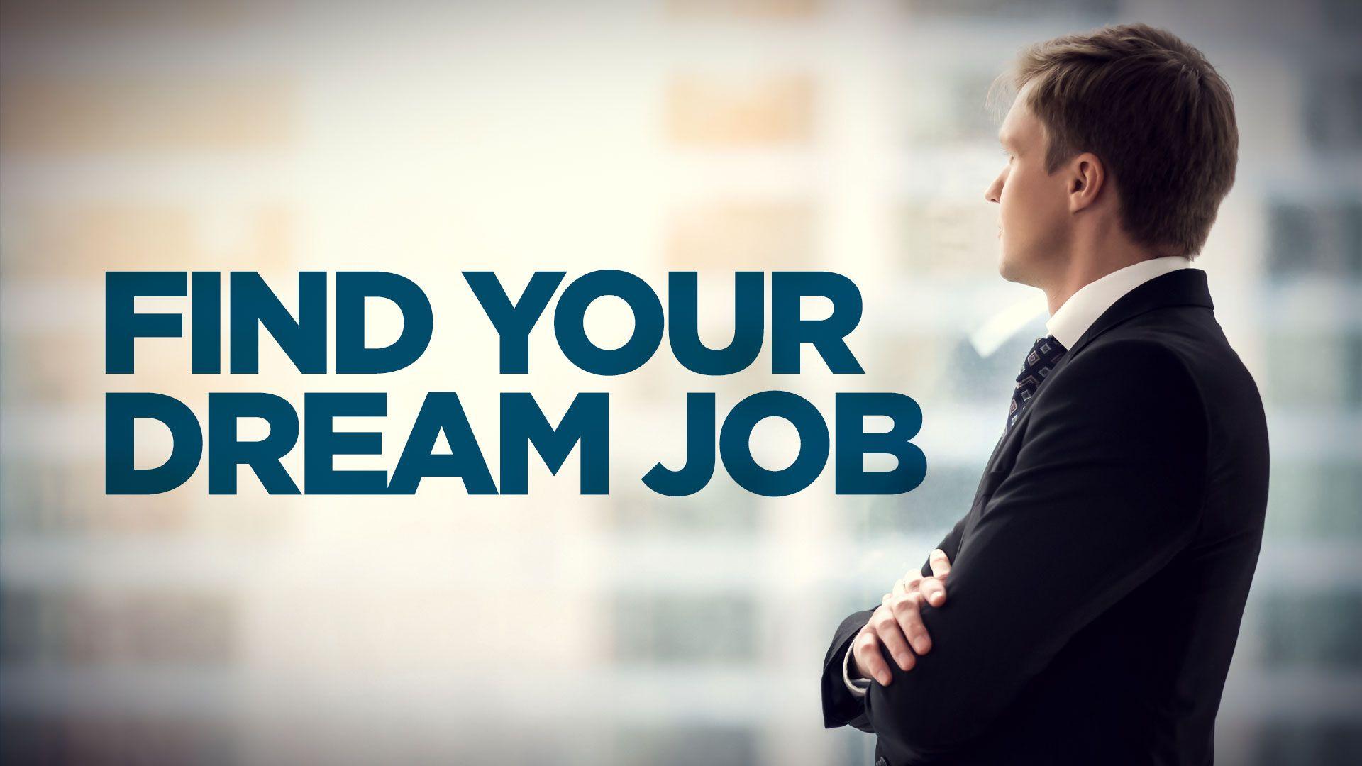 Find your dream job   Find a job, Job portal, Finding the right job