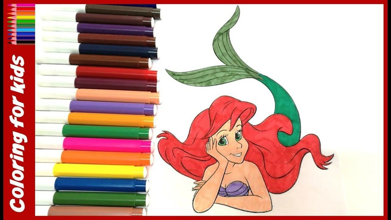 coloring pages for girls : How to color disney princess little ...