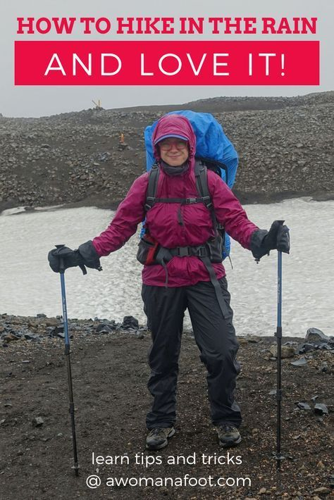 Photo of How to Hike in the Rain – and Love It! — A Woman Afoot