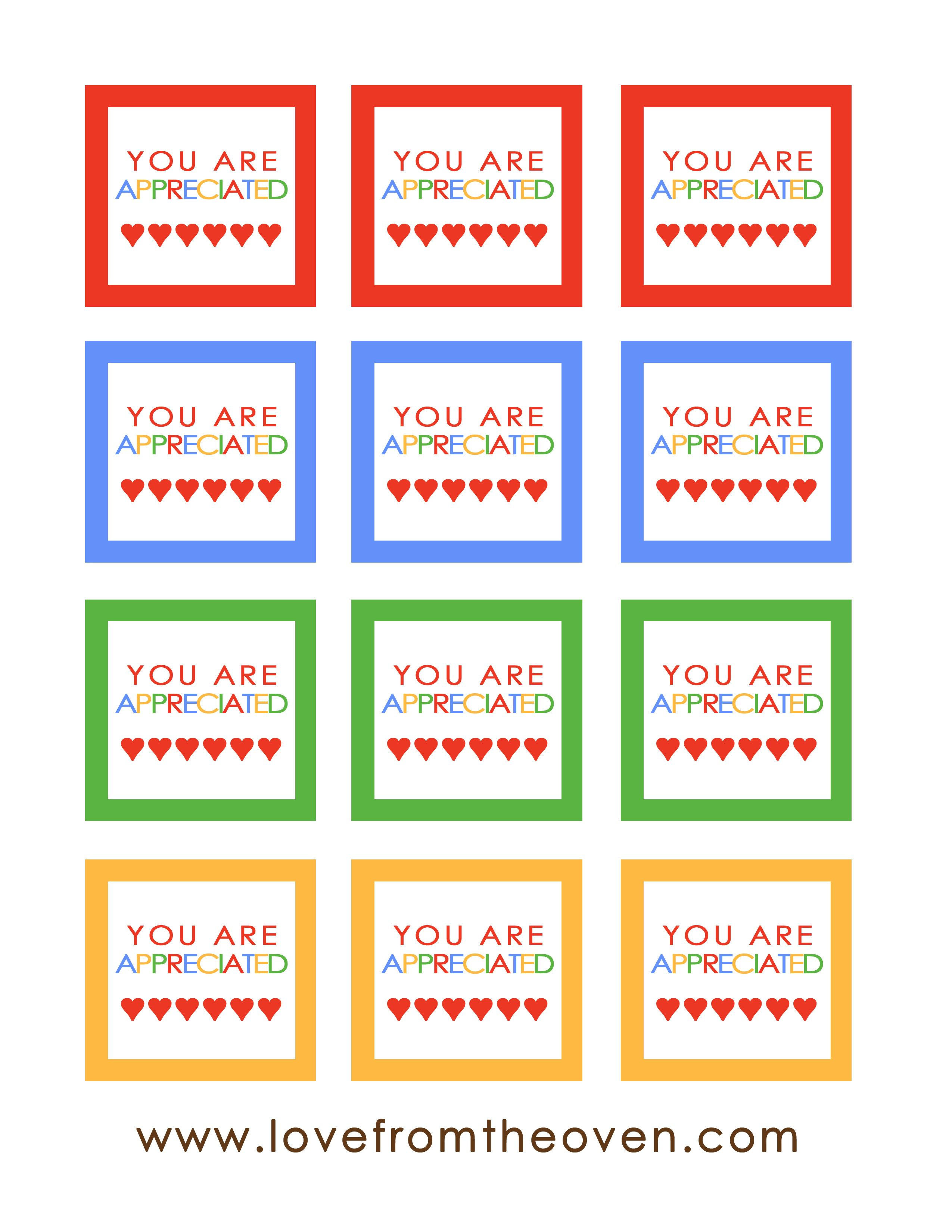 Rainbow Squares Printable Copy