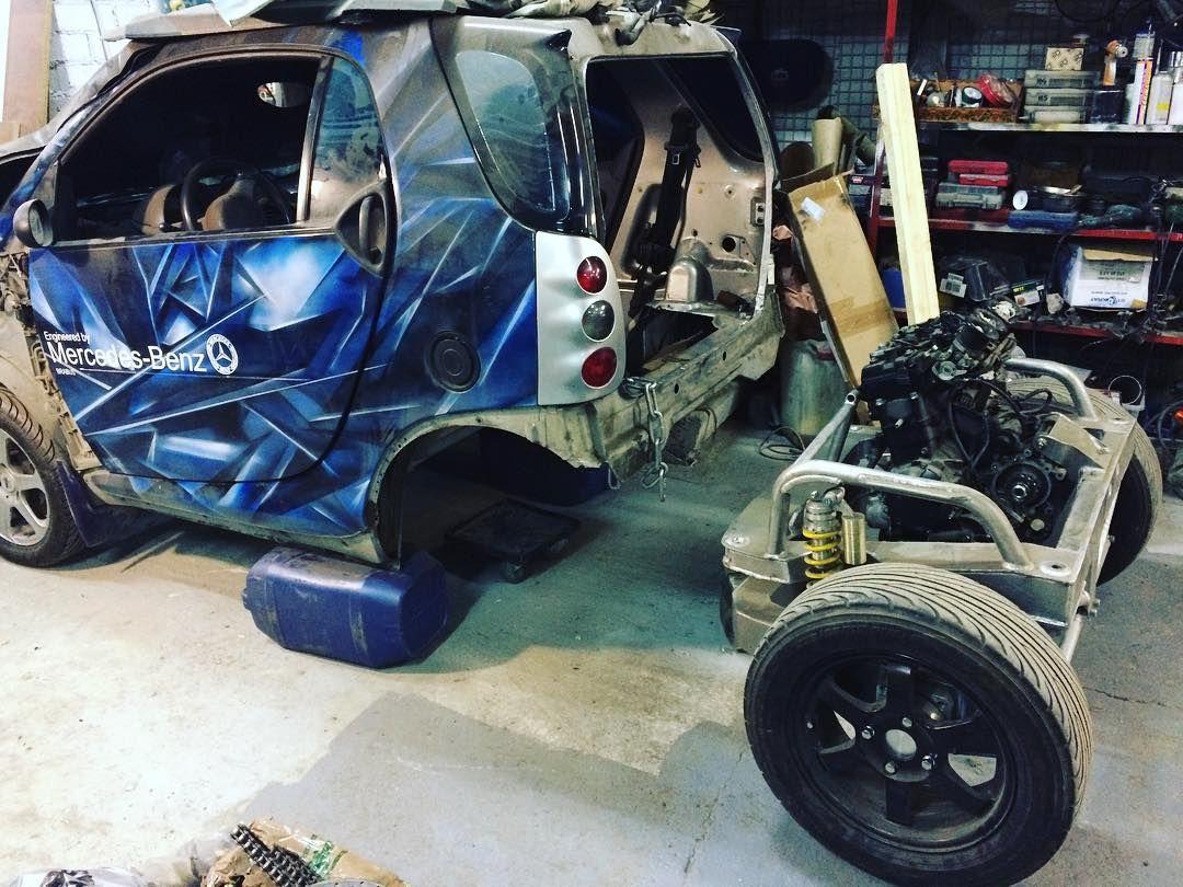 Smart Car With Hayabusa Engine >> Za Dva Goda Obros Pylyu Bedolaga Pora By Snova Vzyatsya Za