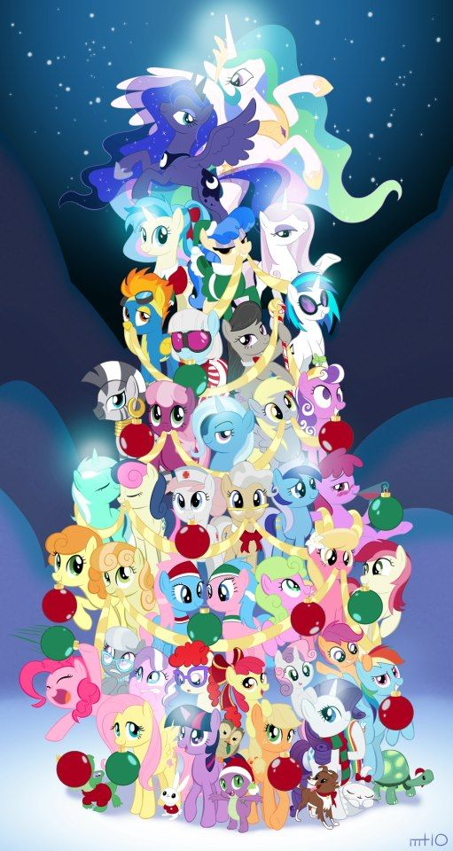 My Little Pony Christmas.Merry Christmas Bronies And Pegasisters My Little Pony