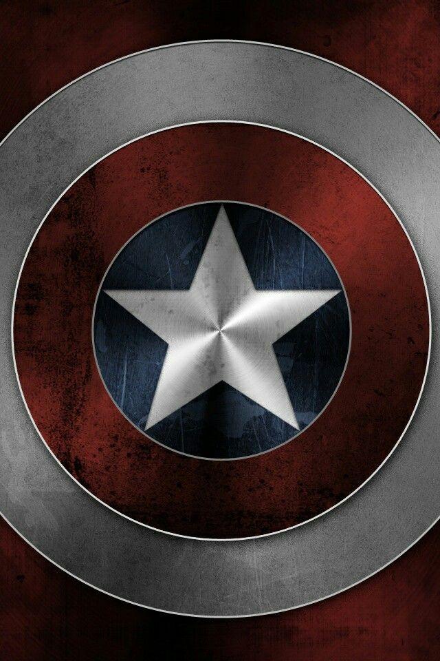 Captain America smbolo  Marvel  Pinterest  Smbolos