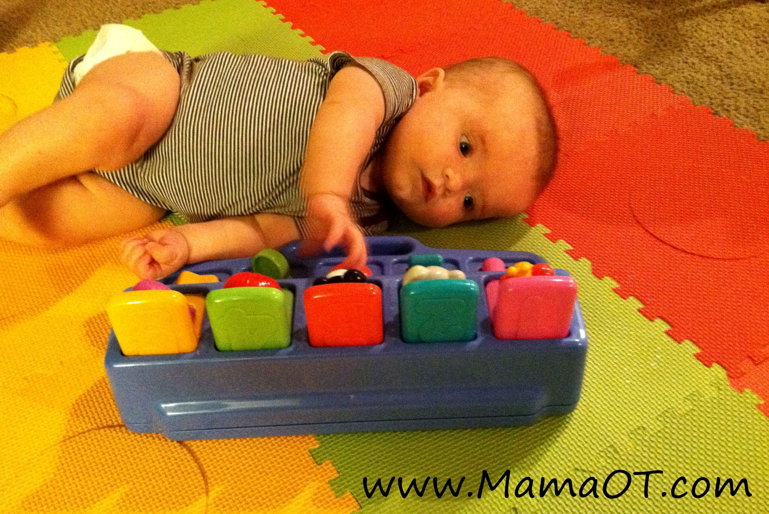how to teach baby to roll over in water