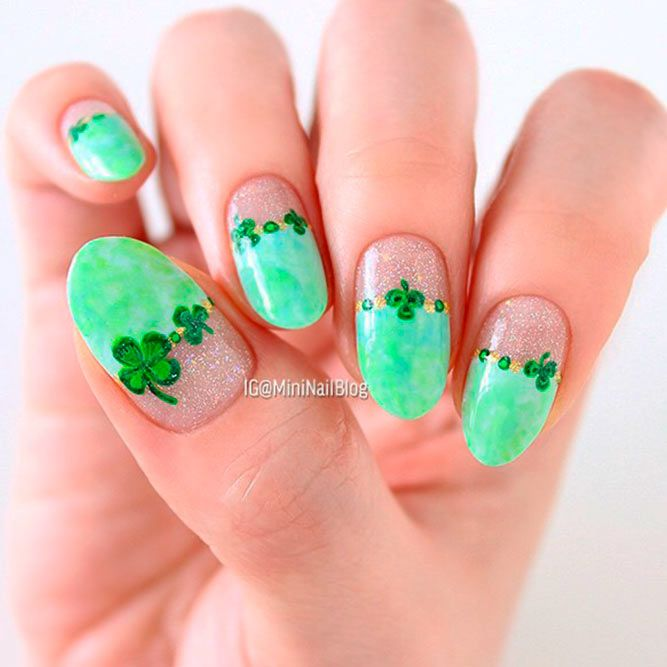 21 Lucky Nails Designs For St. Patrick\'s Day