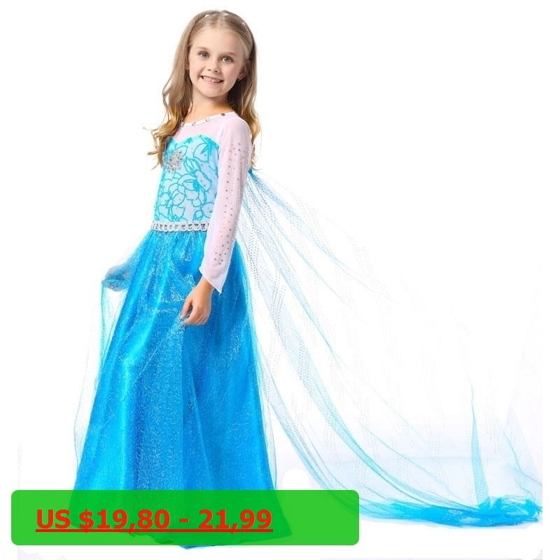 Best Quality Baby Girl Elsa Dress Kids Baby Snow Queen Elza Girls Costume Girls Party Costume  sc 1 st  Pinterest & Best Quality Baby Girl Elsa Dress Kids Baby Snow Queen Elza Girls ...