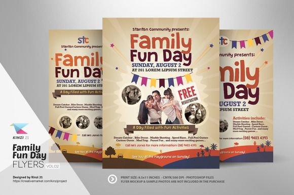 Family fun day flyers vol02 flyer template and template family fun day flyers vol02 fandeluxe Choice Image