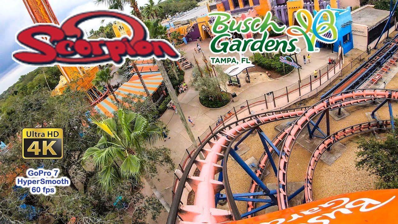 Busch Gardens Tampa Quick Queue Rides