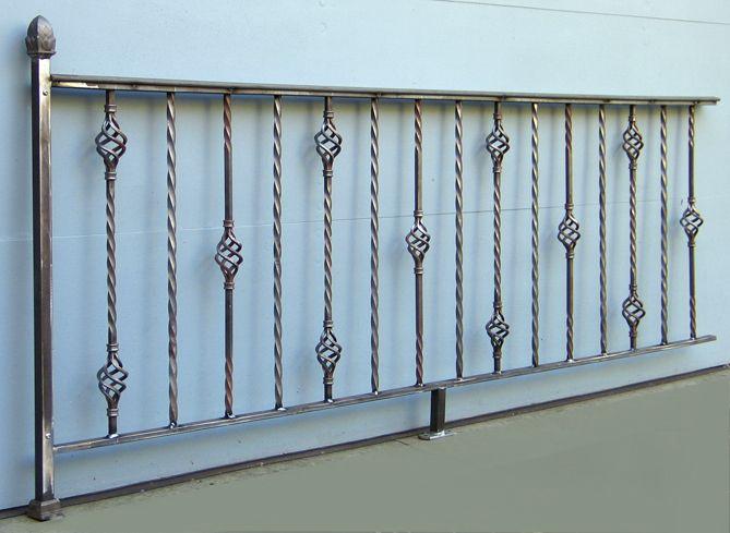decorative railings. Interior Wrought Iron Railings Custom Hand Made Ornamental Steel Railing By  Wisconsin Works Decorative Blog