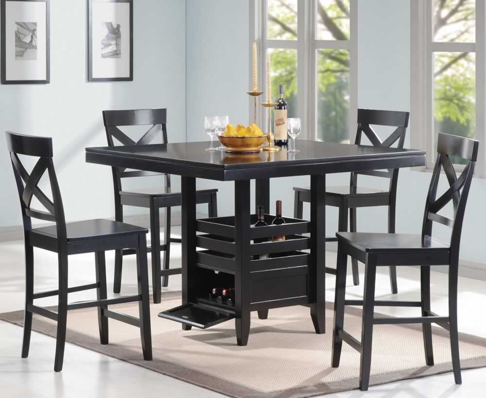 Counter height dining sets square kitchen table