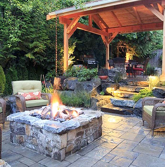 Ideas For Small Backyards: Patio Deck Designs, Backyard