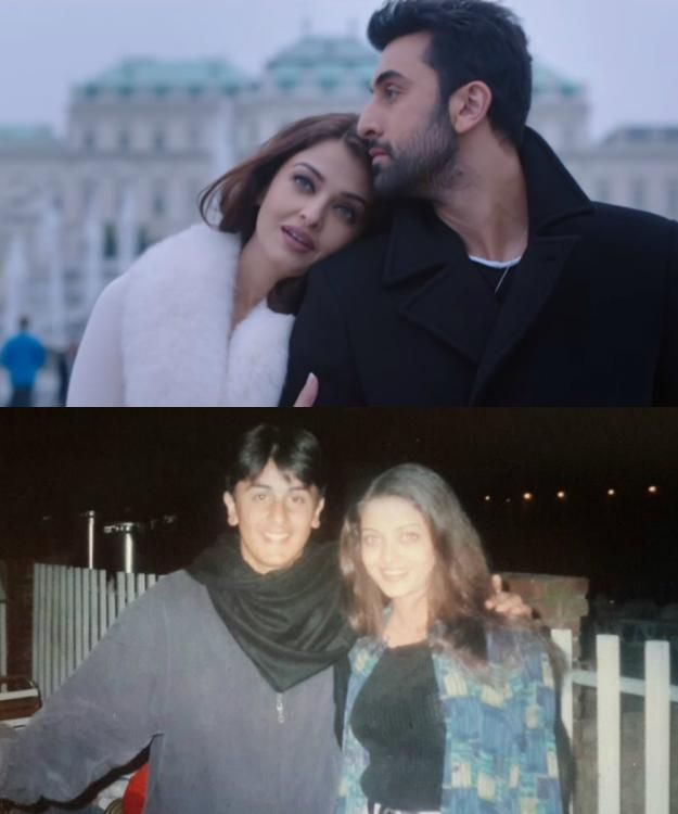 From Being Adorable To Hot In Adhm Ranbir And Aishwarya S