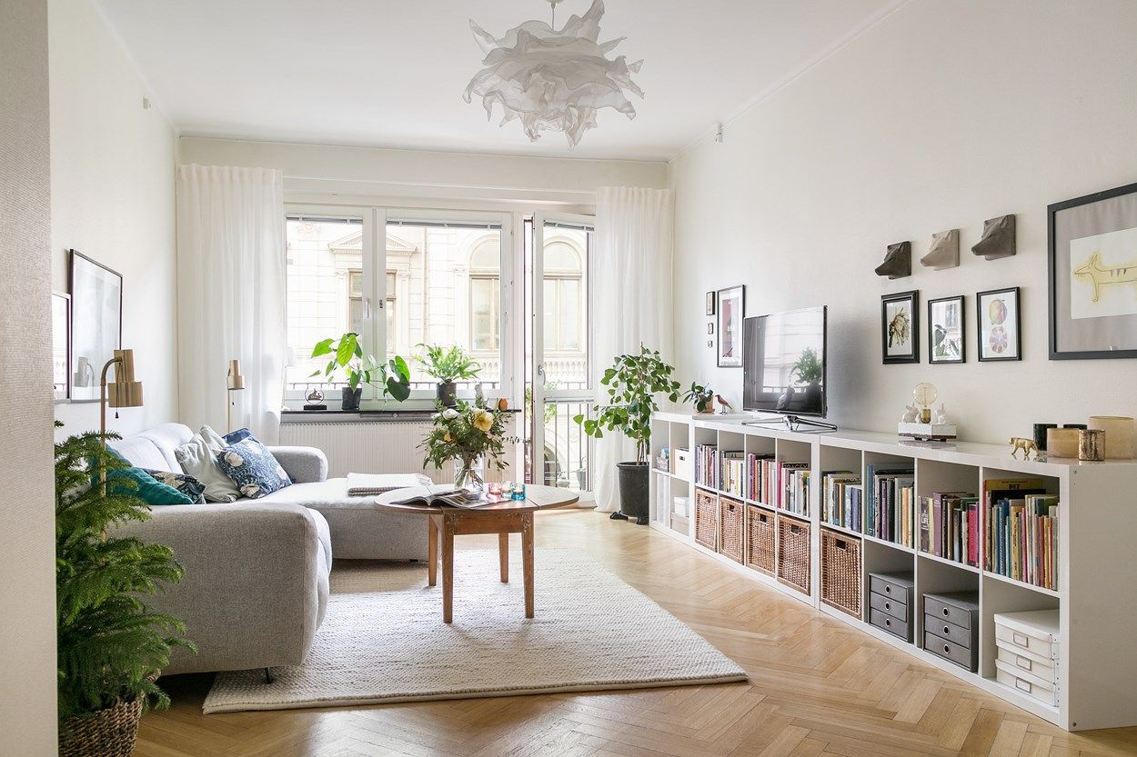6 Green Living Room Designs That Are Going To Blow Your Mind Ikea Living Room Ikea Kallax Shelving Living Room Corner