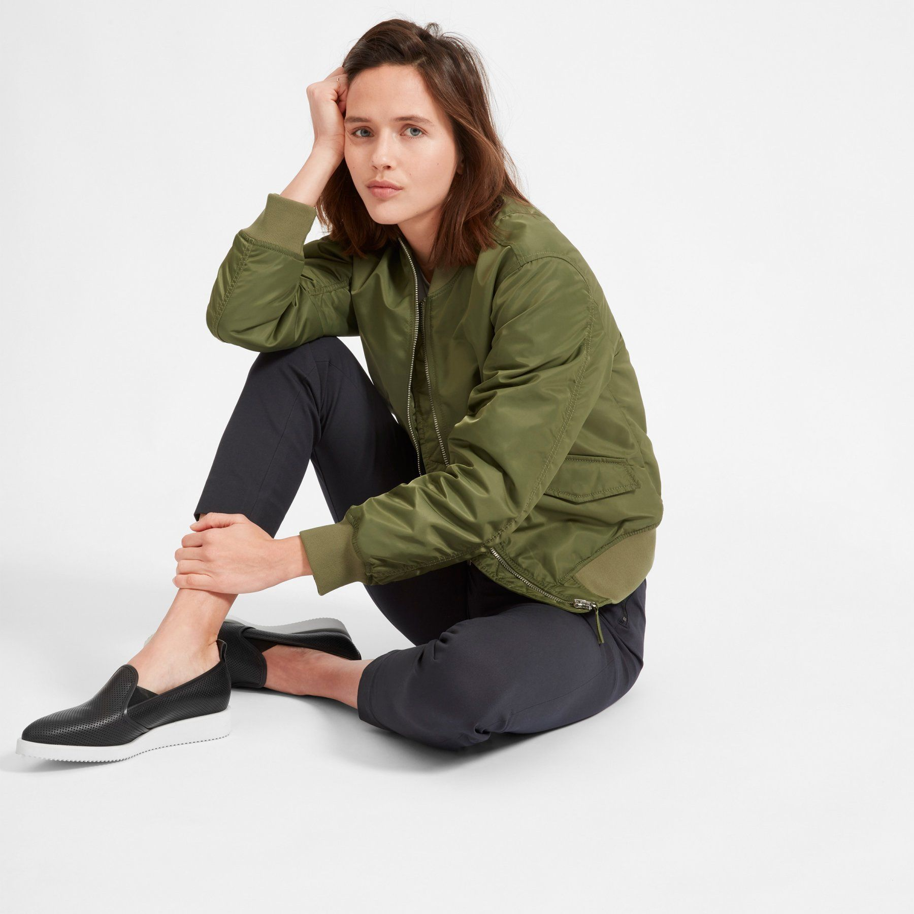 Women's Leather Street Shoe | Everlane (With images