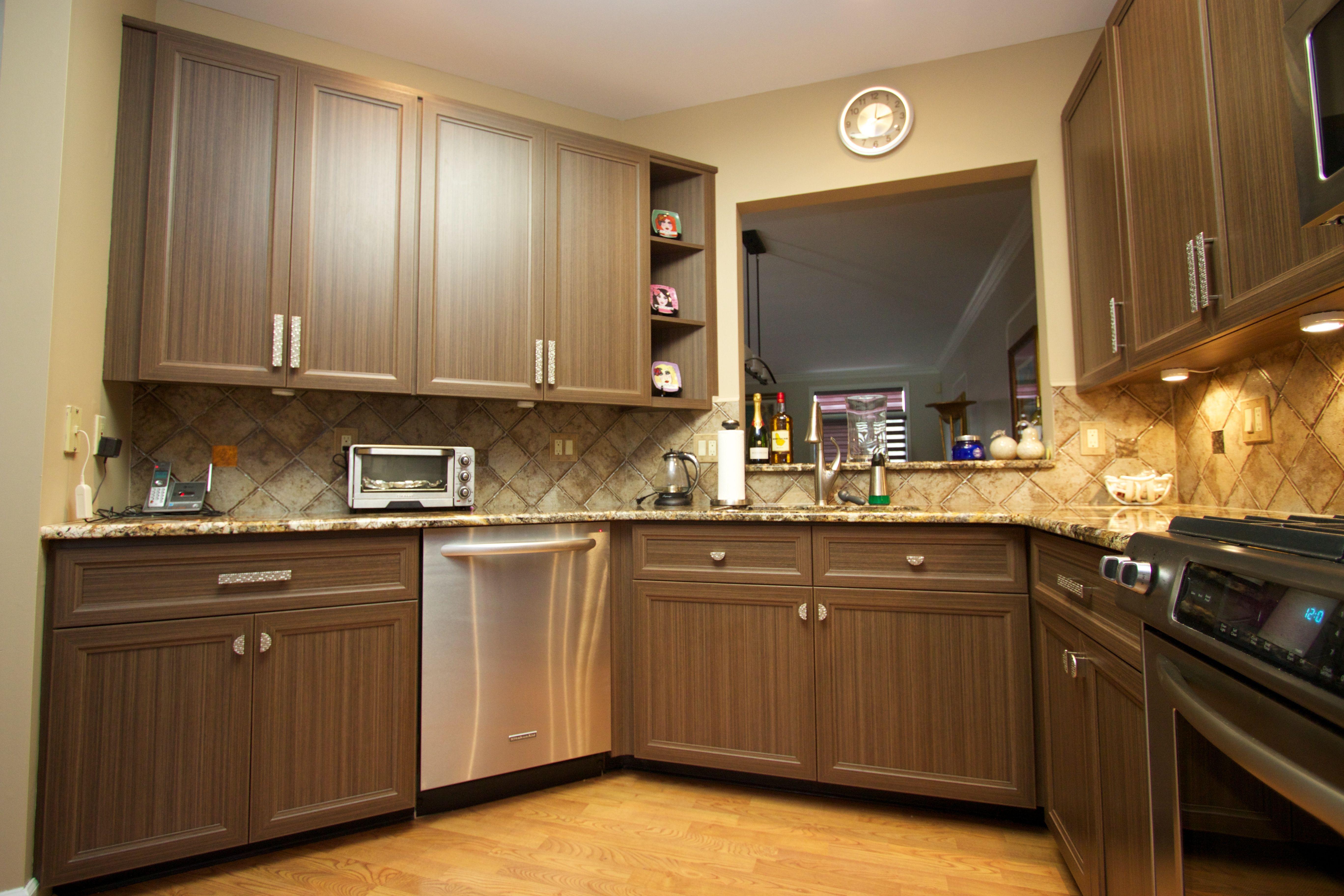 Kitchen Cabinet Refacing Gallery Kitchen Saver Bold Kitchen Refacing Kitchen Cabinets Brown Kitchens