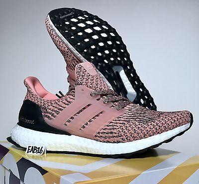 51ec9ce109e43 Adidas Ultra Boost W 3.0 Pink Salmon Still Breeze and Black Ultraboost  S80686