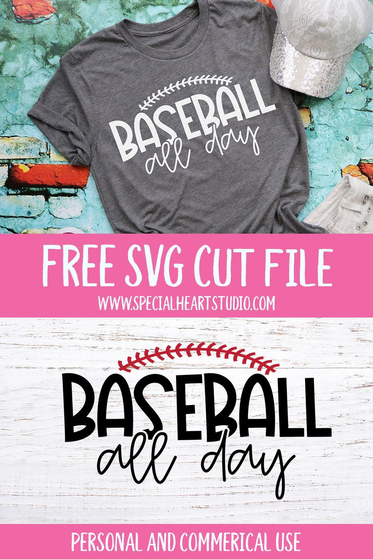 Photo of Free Baseball Cut File