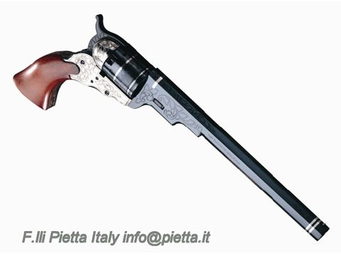 Pietta made Colt Paterson 1836 5-shot  36 caliber cap and