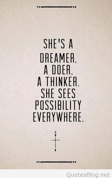Dreamer Quotes She`s A Dreamer Quote  Quotes  Pinterest  Patience