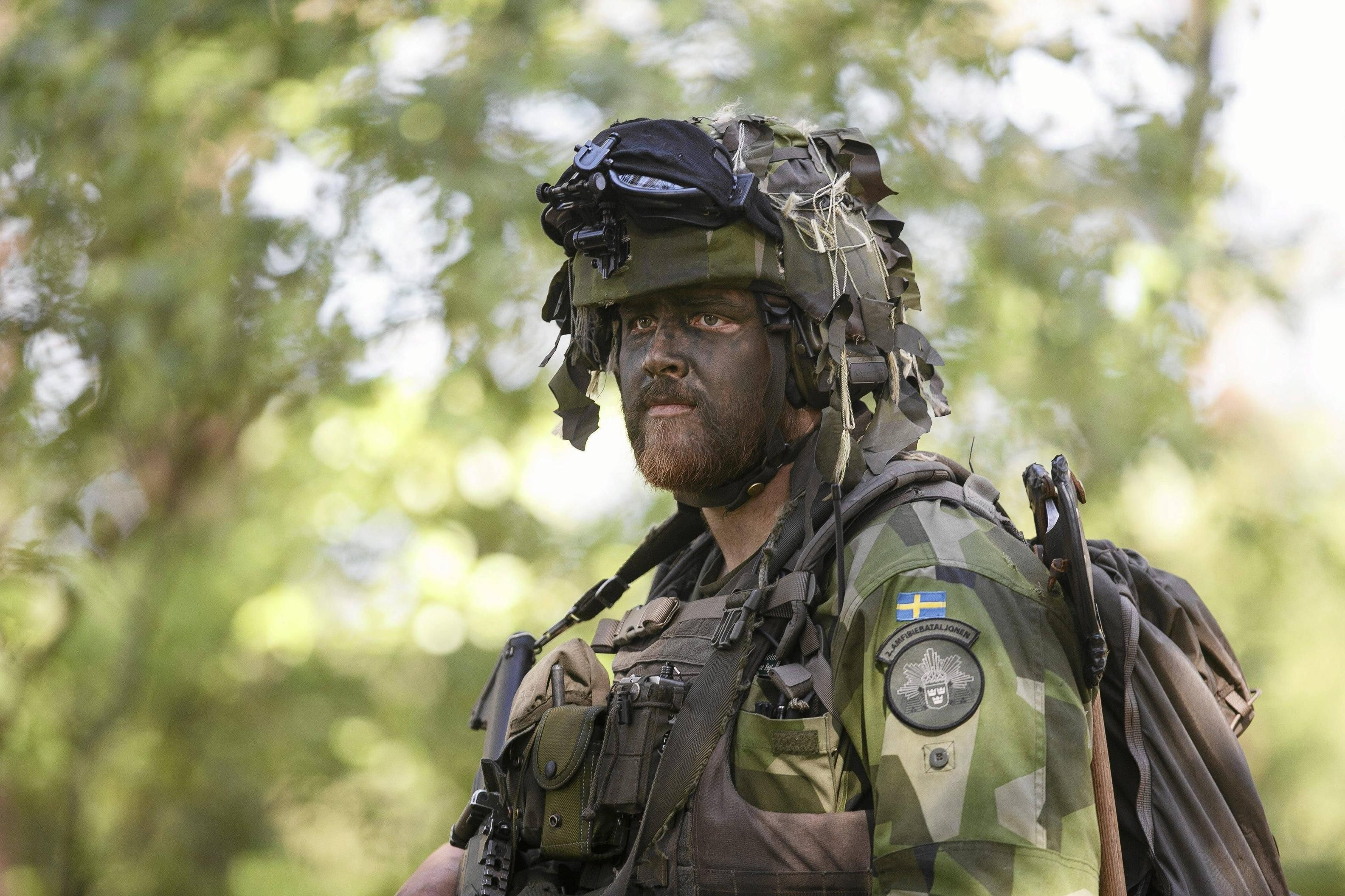 Swedish soldier supporting NATO exercise in Poland  3960 2640 ... 04199d5c5