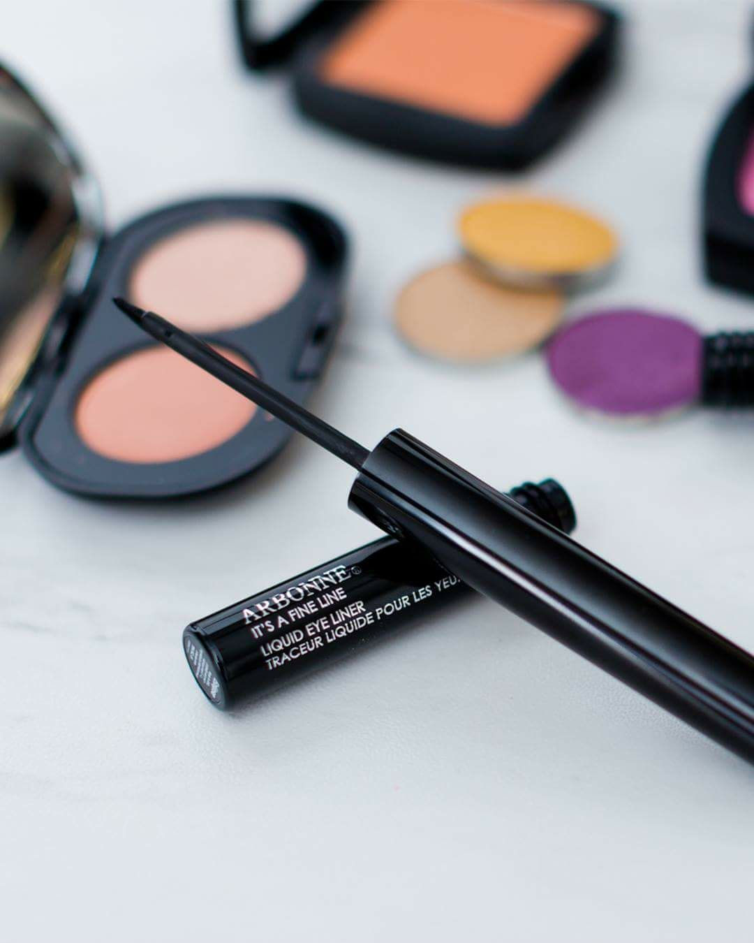 4d794309ef0 This is my FAVORITE liquid liner from Arbonne. From fine to dramatic,  create a look that speaks to your mood with It's A Fine Line Liquid Eye  Liner.