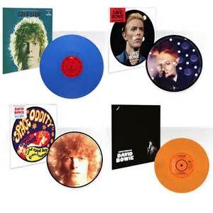 David Bowie vinyl releases for Space Oddity, Golden Years, Amsterdam