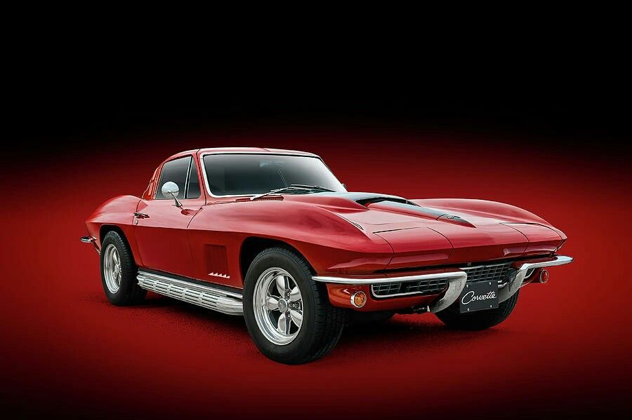 1964 Red Corvette Sting Ray 2020