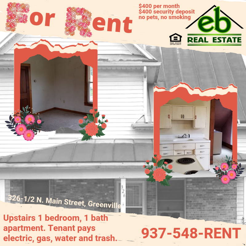 FOR RENT in Greenville! $25 application fee and background ...
