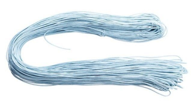 1MM Waxen Wax Cords Jewelry Bead String cotton Thread making Bracelet necklace 1roll/80meters