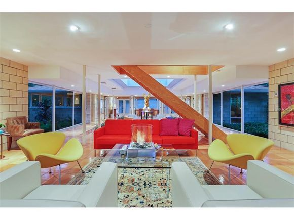 Quintessential Mid Century Modern Home In Oyster Bay In Sarasota | /