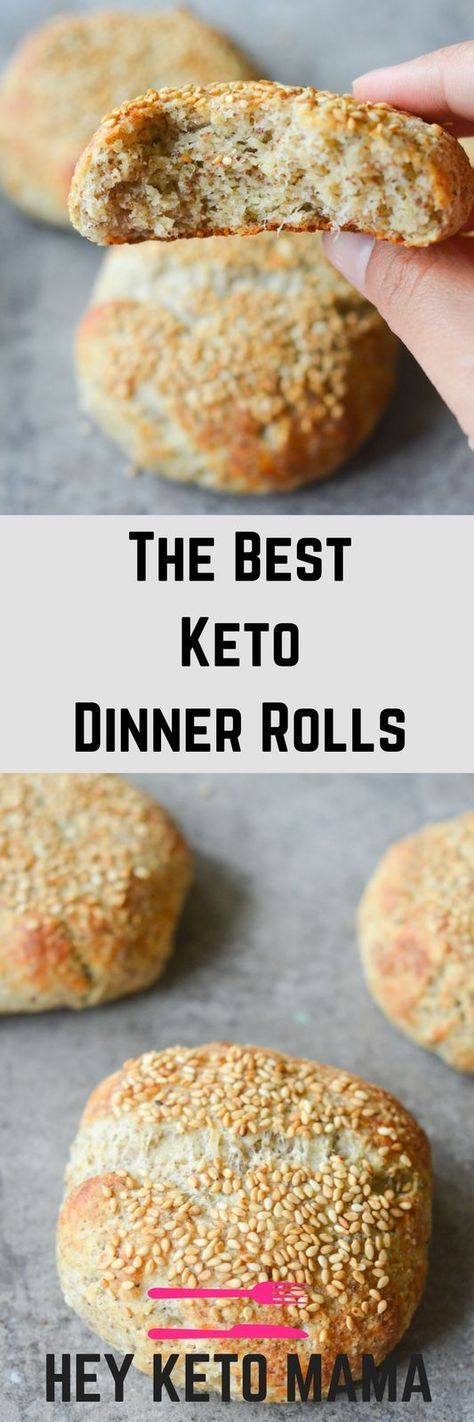 The Best Keto Dinner Rolls   Recipe   Keto   Keto, Keto snacks, Ketogenic recipes