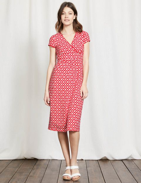 d74aa5c3be7 Casual Jersey Dress - a slightly more casual dress in a print could ...