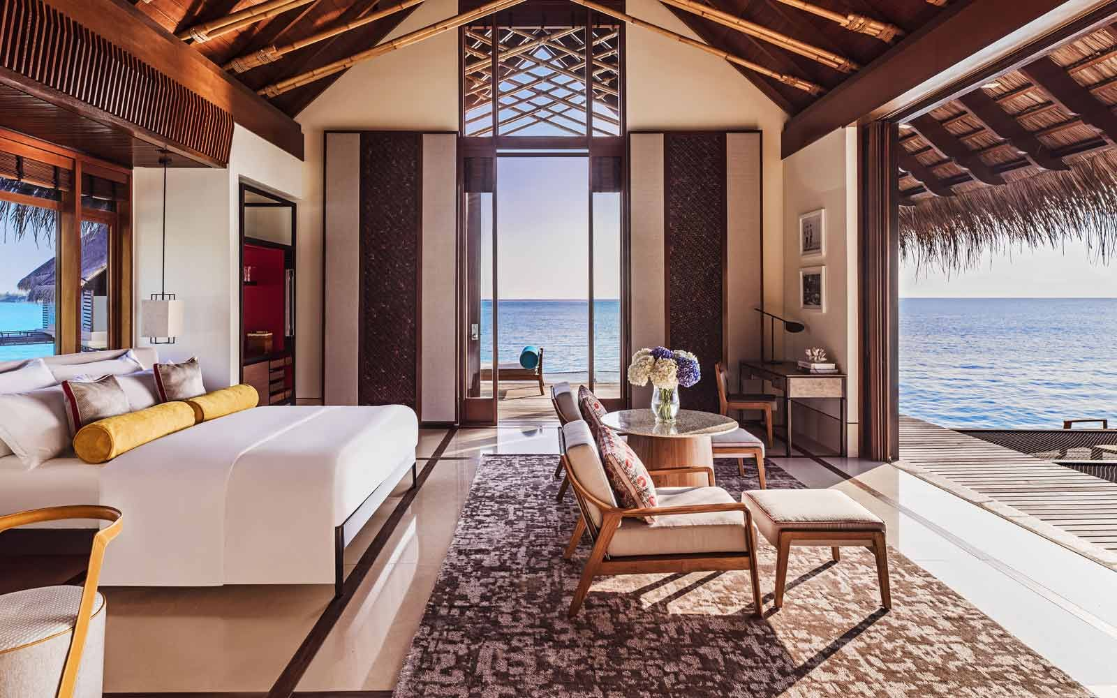 Water Villas at One&Only Cabos feature a beautiful