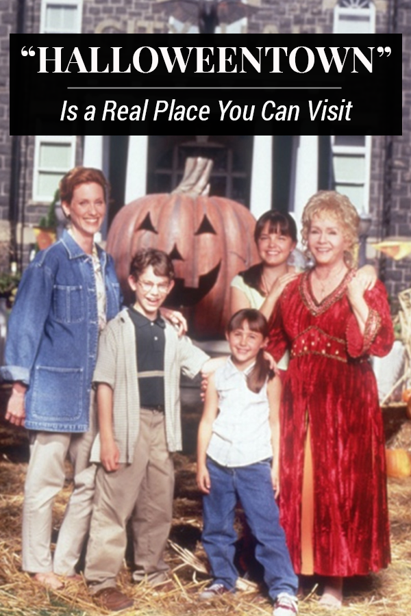 """""""Halloweentown"""" Actually Exists and Yes, You Can Go Visit"""