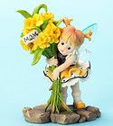 New KITCHEN FAIRY Figurine DAFFODIL FLOWER Fairie Statue MOTHER'S DAY Figure - Daffodil, Fairie, Fairy., Figure, Figurine, FLOWER, Kitchen, Mother's, Statue