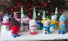 Resultado de imagen de manualidades con rollos de papel higienico navidad
