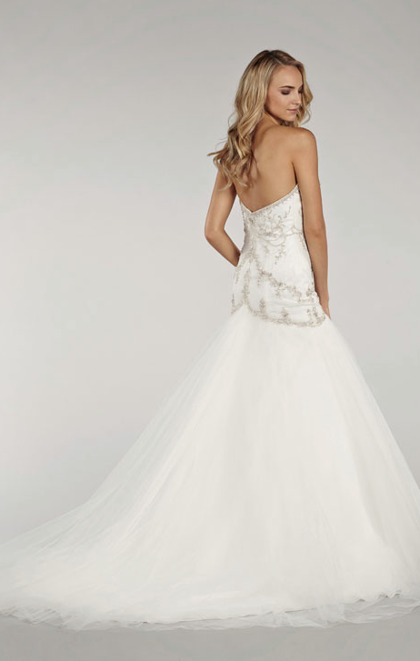 Lovelle by Lazaro Wedding Dresses Spring 2014 Collection. To see more: http://www.modwedding.com/2014/01/07/lovelle-lazaro-wedding-dresses-spring-2014-collection/ #wedding #weddings #fashion