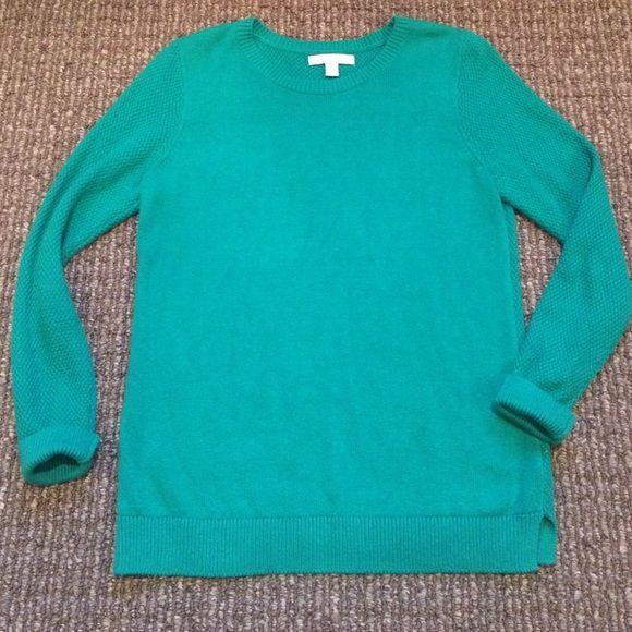 d82f0a241430c9 Banana Republic kelly green crew neck sweater EUC sweater