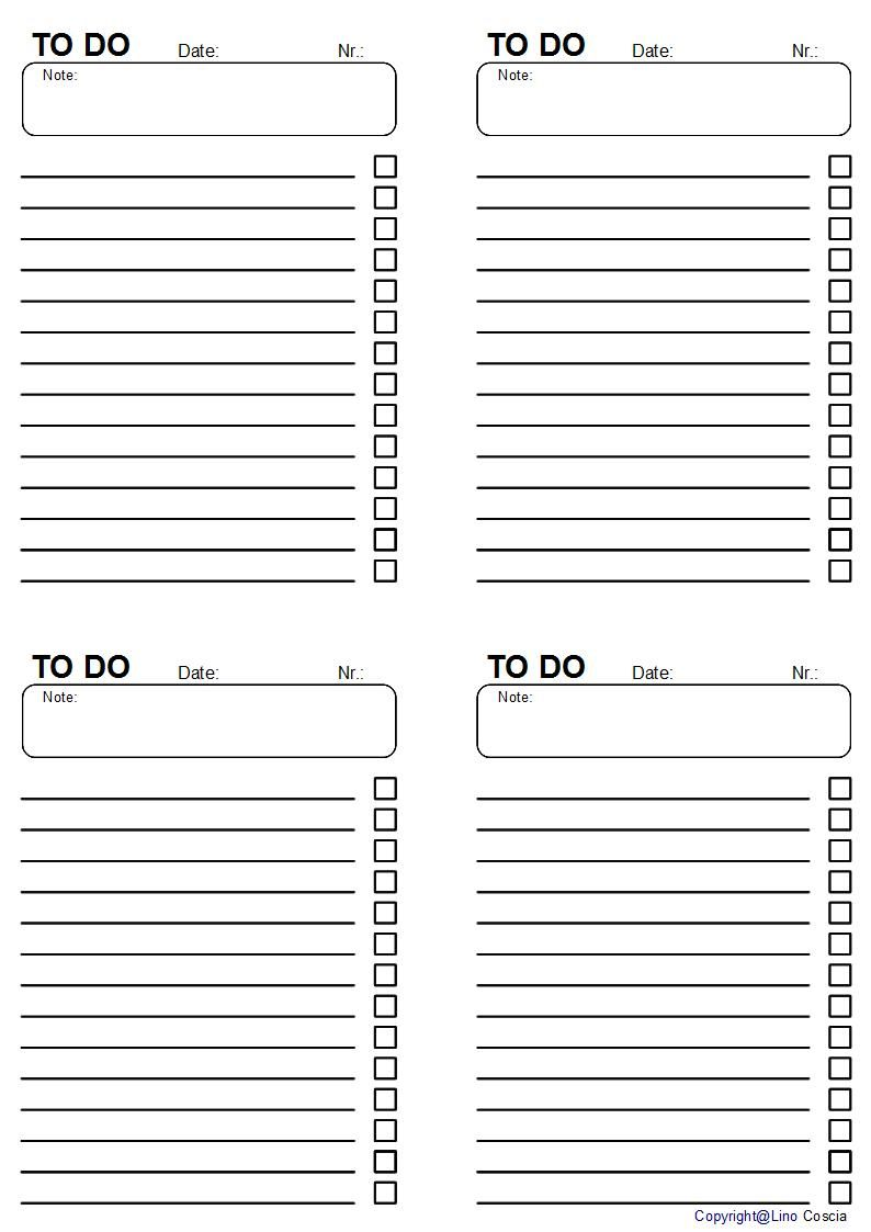 Get things done with these cute todo lists – Simple to Do List Template