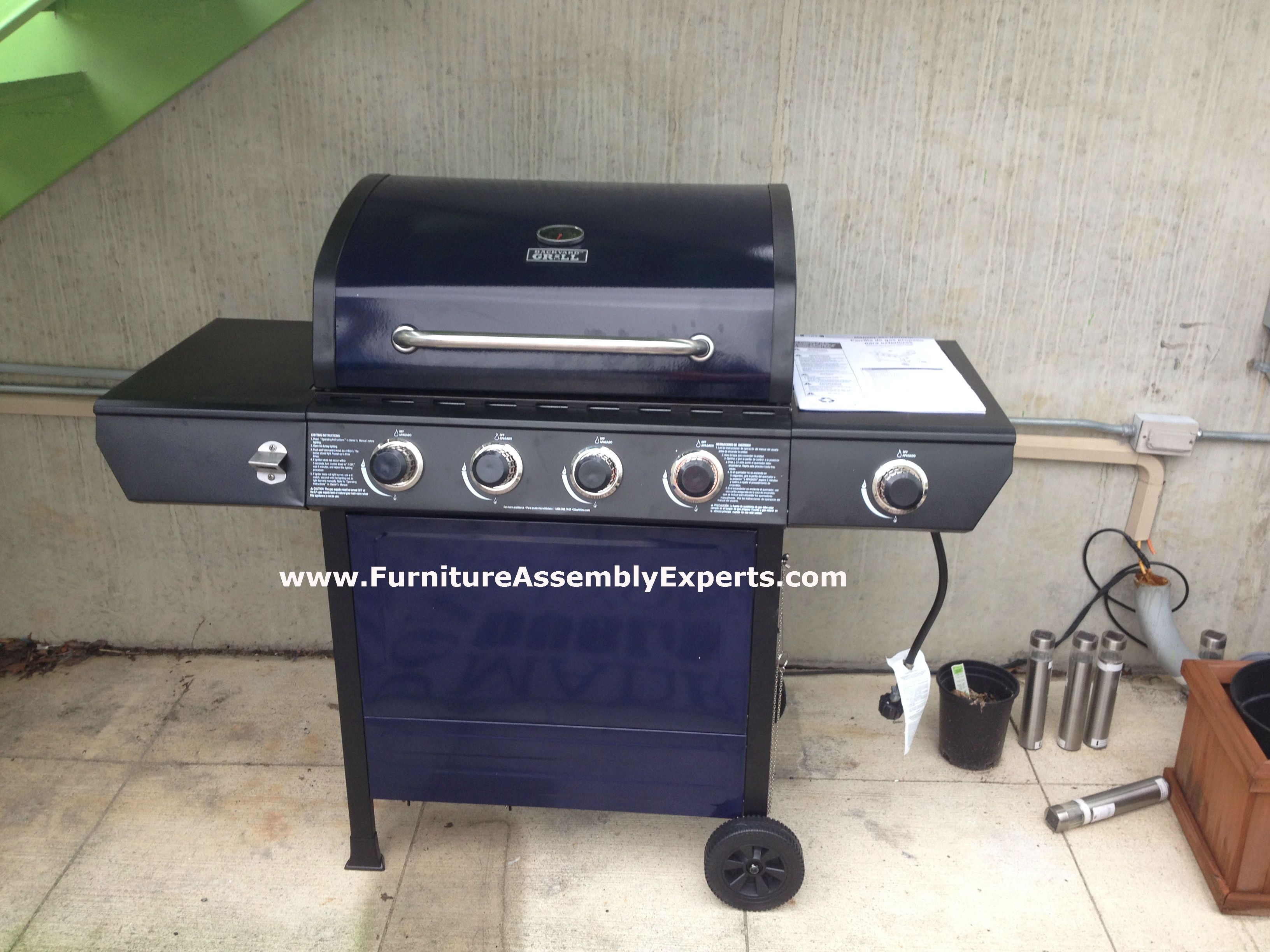 Walmart Backyard Grill 4 Burner Propane Gas Grill Assembled In Washington  DC For A Personal