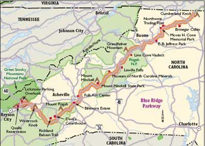 North Carolina Scenic Drives: Blue Ridge Parkway