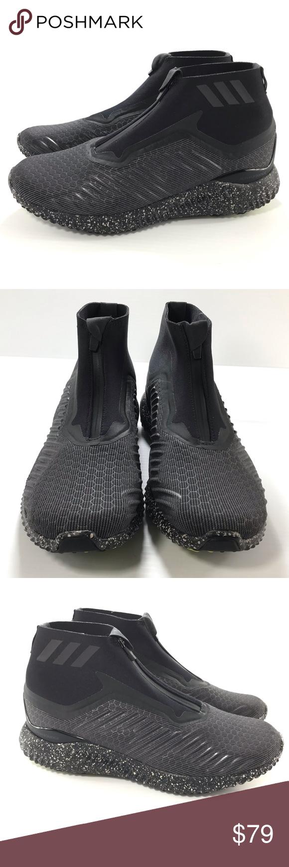 adidas alphabounce 5.8 Zip Core Black