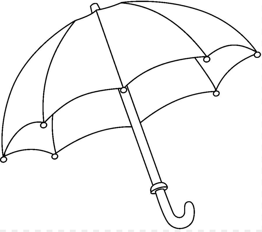 Line Art Coloring Book Clip Art Umbrella Cliparts Parapluie Coloriage Bujo