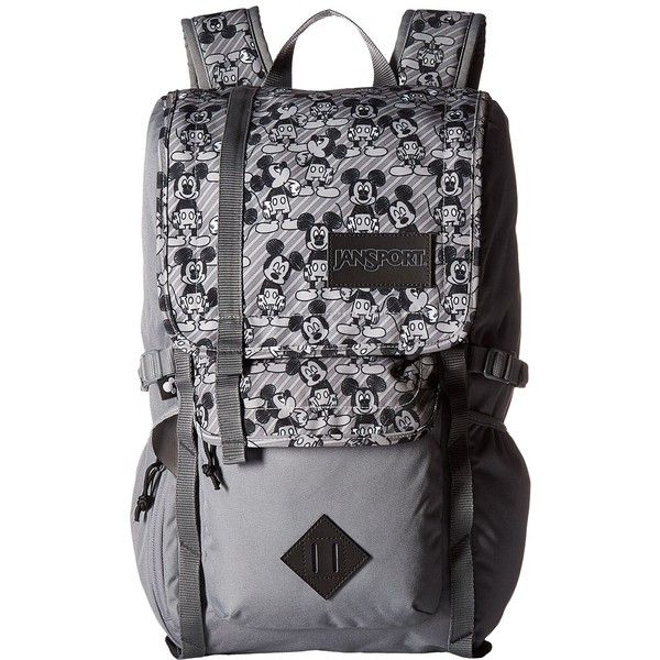 b1130bd92e1 JanSport Disney Hatchet (Grey Rabbit Mickey Sketch) Backpack Bags (£53) ❤