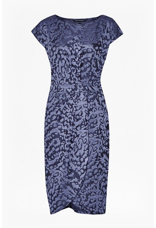 Leo Jacquard Print Dress