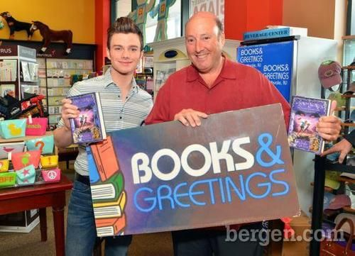 Books and greetings chris colfertlos etc pinterest glee books and greetings m4hsunfo
