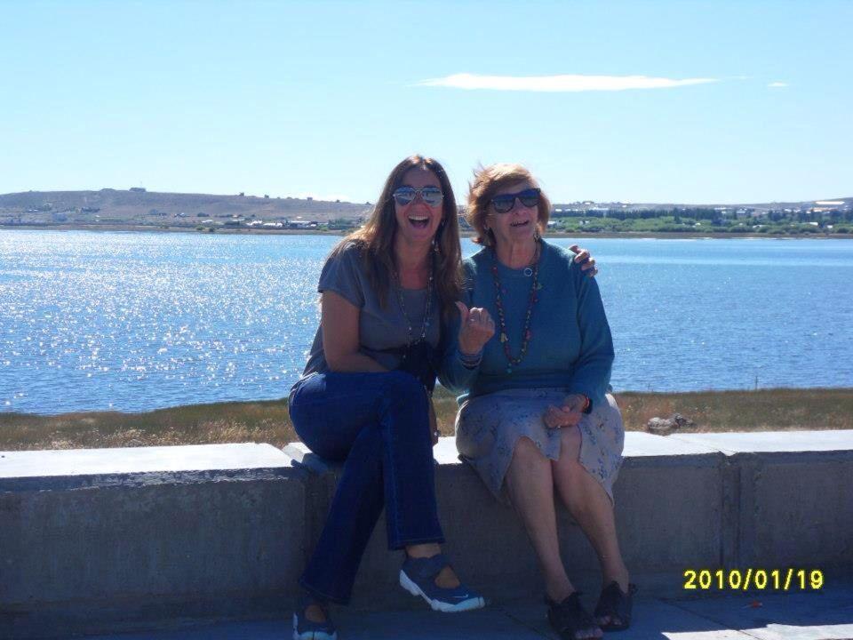 Mi madre y yo !!! Felices