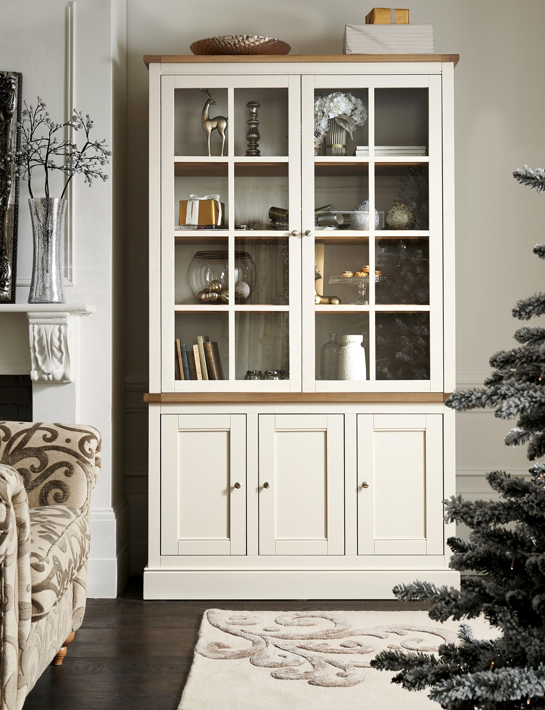 Shaftesbury Painted Glazed Display Unit from Next | Muebles ...